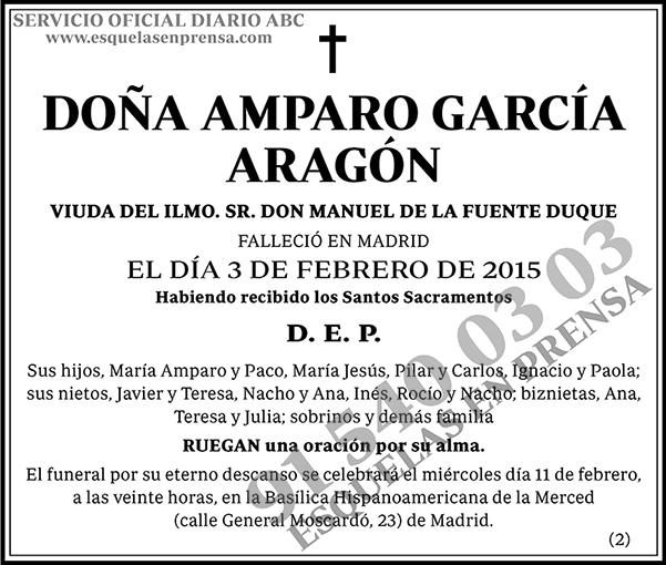 Amparo García Aragón
